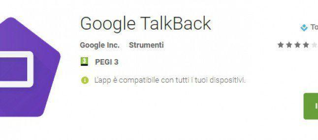 Google aggiorna TalkBack con diverse funzionalità