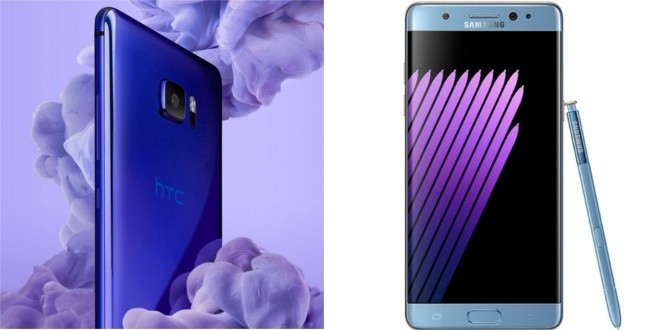 HTC U Ultra vs Galaxy Note 7: scontro tra giganti