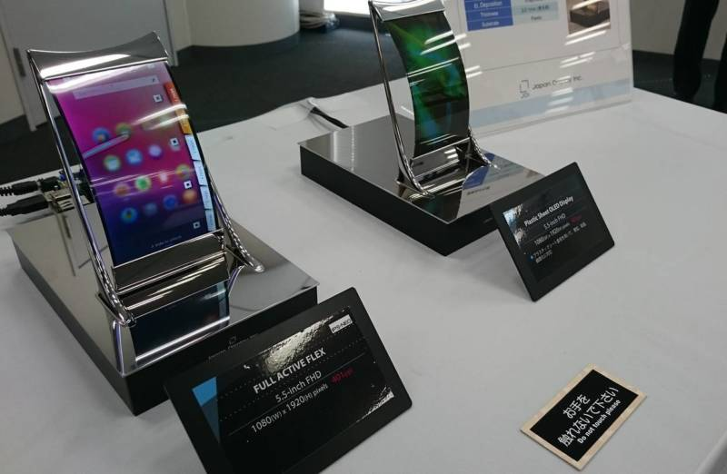 LCD flessibile