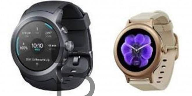 LG Watch Sport e Watch Style con Android Wear 2.0 in alcune immagini