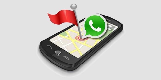 Individua posizione: Con Whatsapp