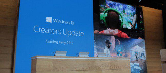 Windows 10 Creators Update potrebbe arrivare ad aprile