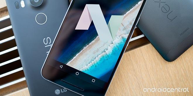 Nexus 5X, con Android 7.1.2 Nougat arrivano le gesture per le notifiche