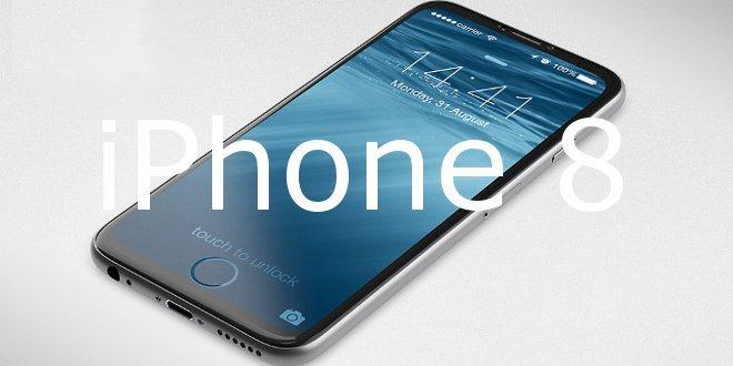 iPhone 8 con nuovo Touch ID e scanner facciale