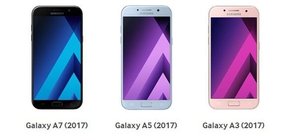 Samsung punta a vendere 60 milioni di Galaxy S8, 20 milioni di Galaxy A e 100 milioni di Galaxy J nel 2017