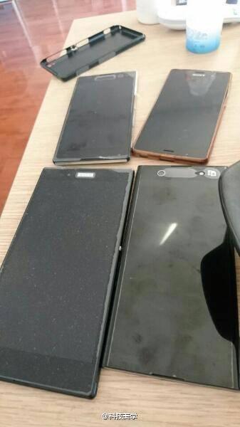 Sony Xperia, trapelano le foto di alcuni smartphone in arrivo al MWC 2017