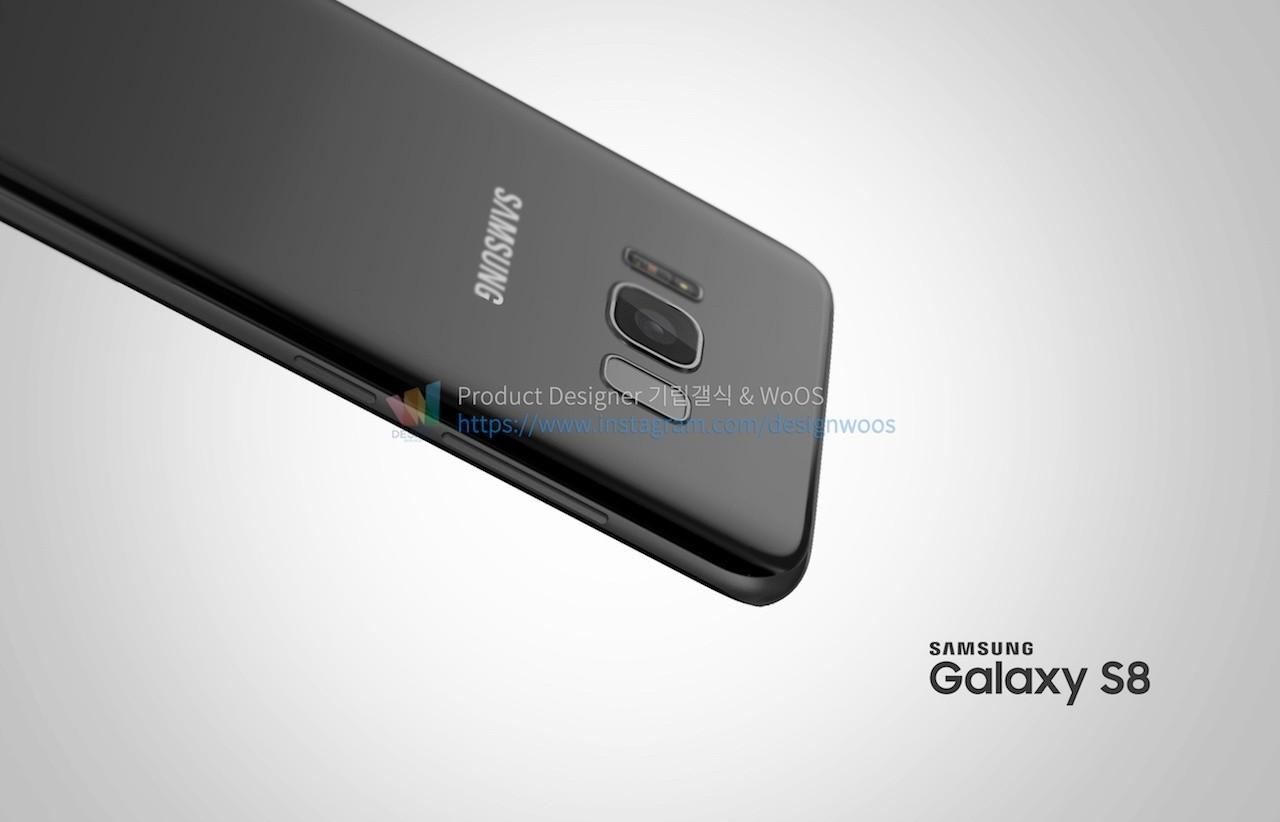 Bellissimi i nuovi render di Samsung Galaxy S8