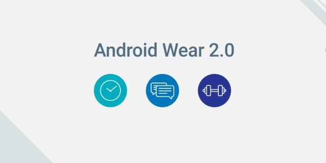 Android Wear 2.0 ufficiale: tutte le novità
