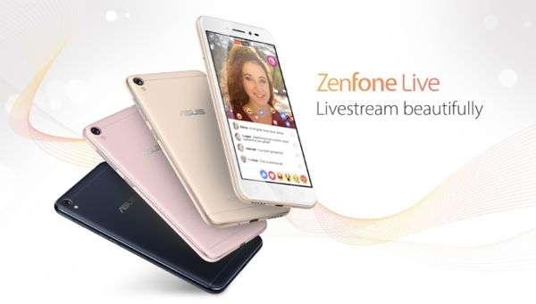 Asus ZenFone Live, in arrivo lo smartphone che ci renderà bellissimi nelle dirette social