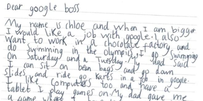 Bimba di 7 anni scrive a Google, CEO Sundar Pichai le risponde
