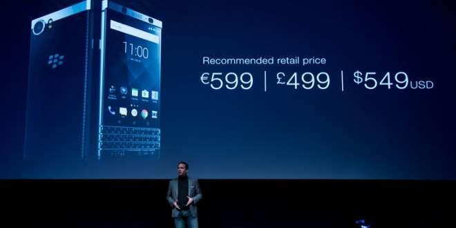 BlackBerry KEYone ufficiale: torna la tastiera fisica su Android. Da aprile a 599€