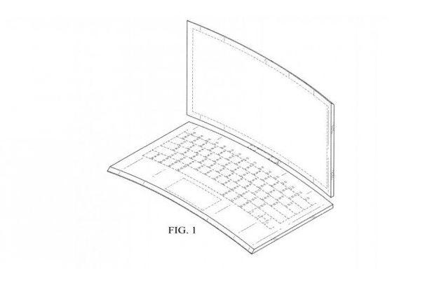 Intel: un nuovo brevetto descrive un convertibile 2-In-1 totalmente curvo