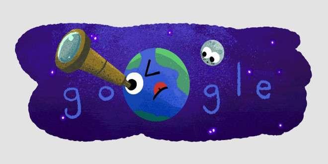 Doodle speciale di Google per il sistema planetario scoperto dalla NASA