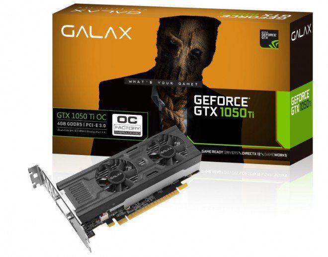 GeForce GTX 1050: in arrivo due schede a basso profilo targate Galax