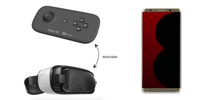 Gear VR, il nuovo controller per Galaxy S8 e S8+ certificato dalla FCC