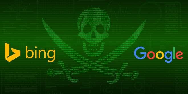 Google e Bing insieme contro la pirateria