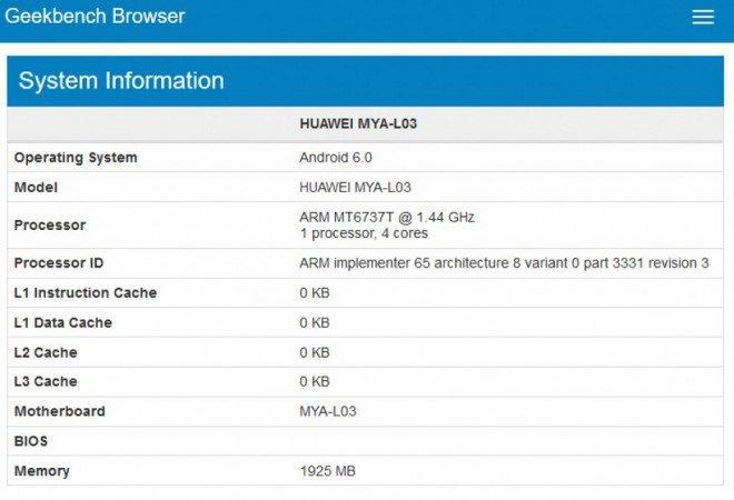Huawei Maya GFXBench