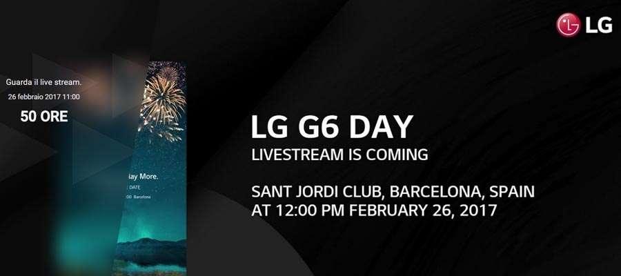LG G6, seguite la presentazione in diretta su KeyforWeb dalle 12:00