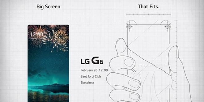 """LG G6 al MWC 2017 con un display che promette una """"piena visione"""""""