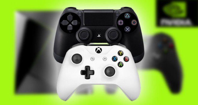 NVidia Shield TV compatibile con controller PS4 ed XBox One