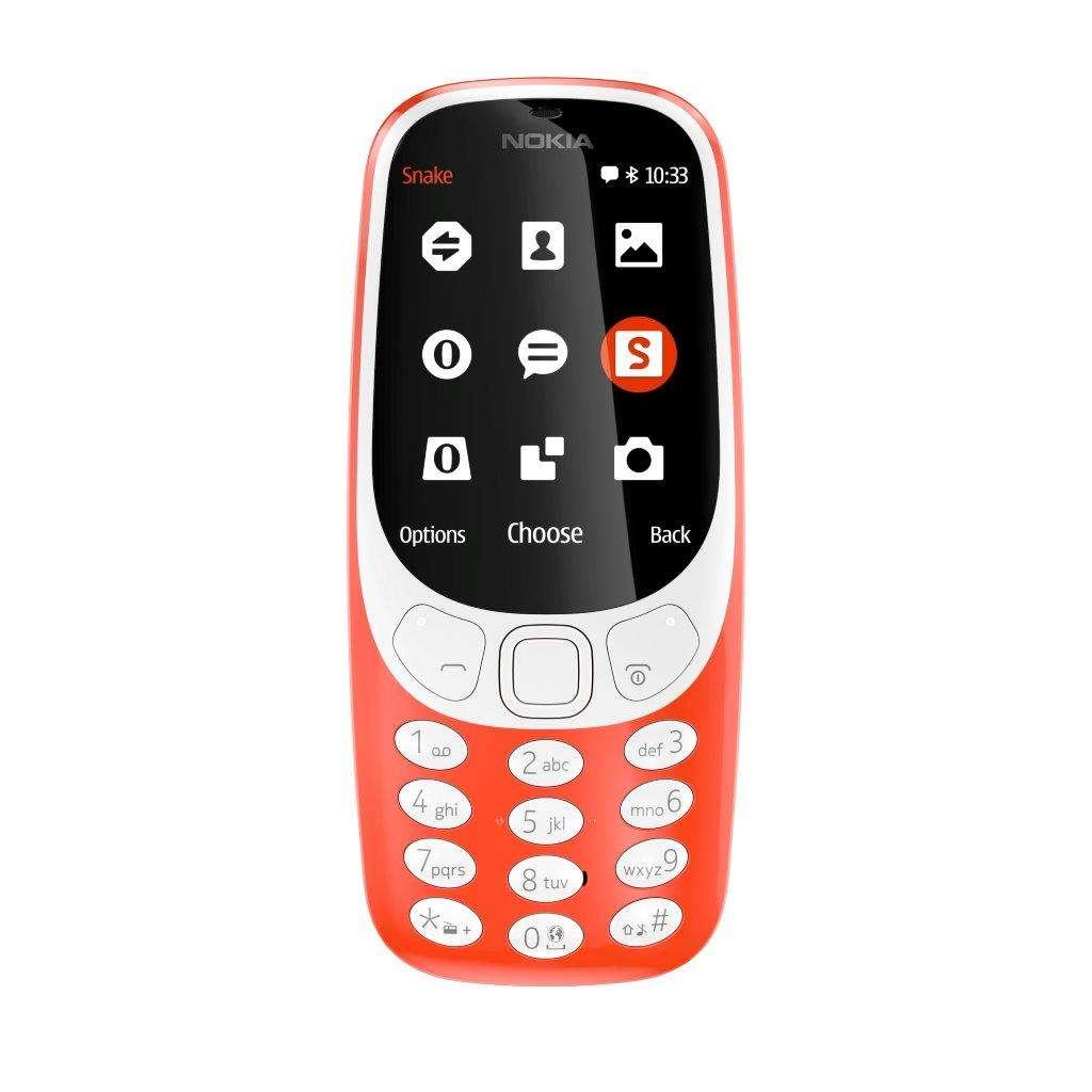 Nokia 3310, un tuffo nel passato ma con batteria infinita ed un nuovo Snake!