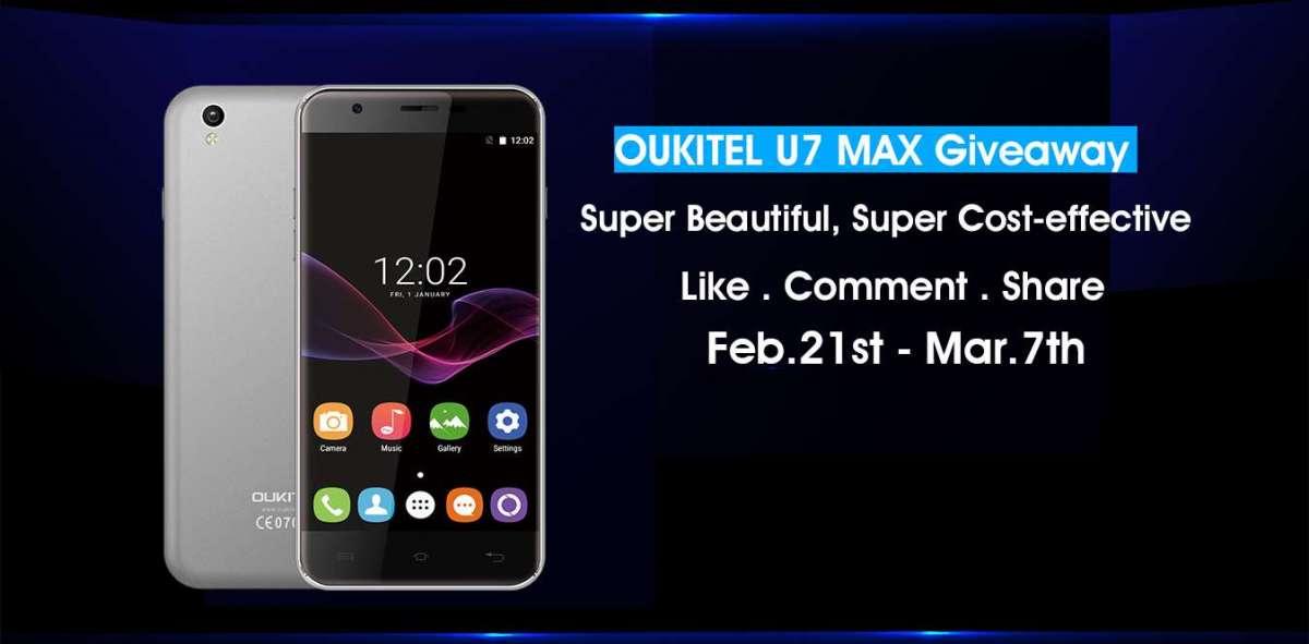 OUKITEL U7 Max: inizia la prevendita, entry level ad un super prezzo