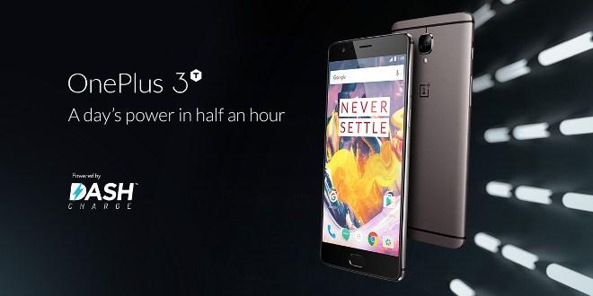 OnePlus 3T con 128 GB di memoria interna in preordine a 479 euro