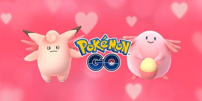Pokémon GO si tinge di rosa per l'evento di San Valentino