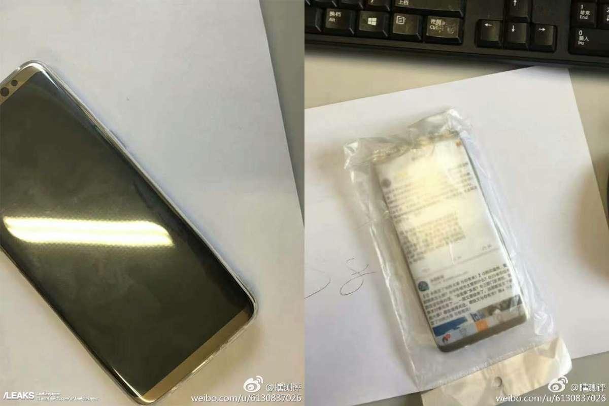 Samsung Galaxy S8 si mostra in foto nella colorazione Gold