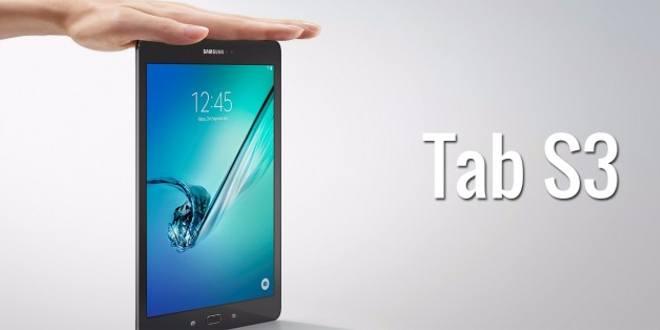 Gli sfondi ufficiali di Samsung Galaxy Tab S3 in download