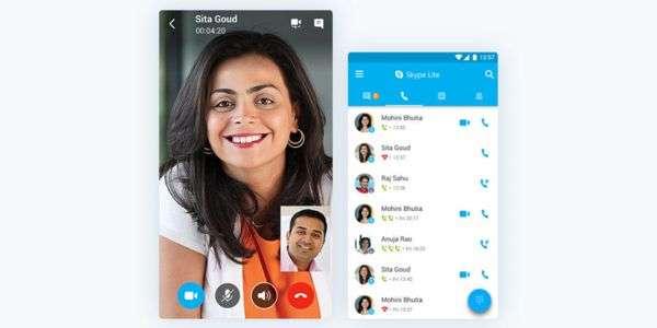 Microsoft Skype Lite per Android: arriva client di messaggistica leggero e veloce | Download |