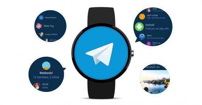 Telegram su Android Wear 2.0: novità e nuove funzioni