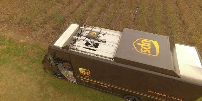 UPS sfida Amazon testando le consegne via drone