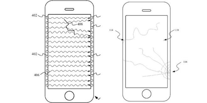 Vetro iPhone rotto? In futuro lo smartphone vi avviserà