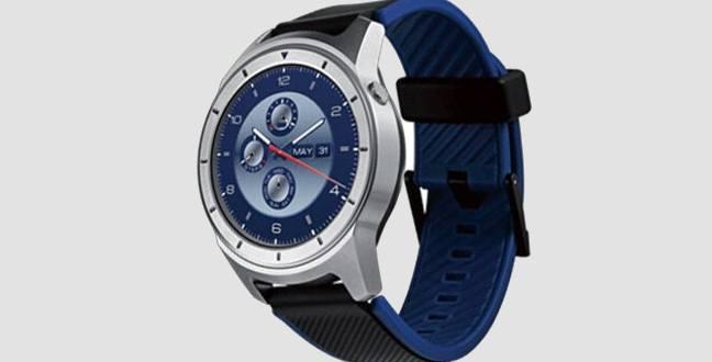 ZTE Quartz, prime immagini per lo smartwatch circolare con Android Wear 2.0