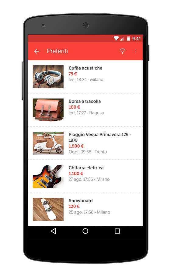 app subito per Android