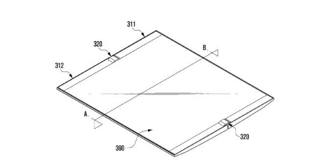 Emerge un nuovo brevetto Samsung relativo ad un dispositivo con schermo flessibile