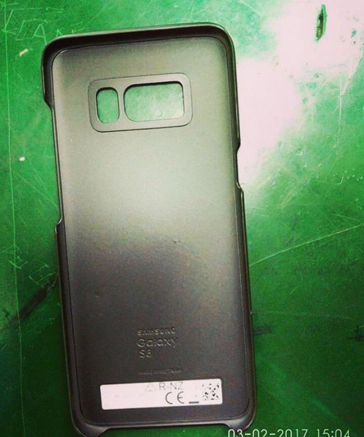 Le custodie di Galaxy S8 e S8 Plus apparse in nuove foto leaked
