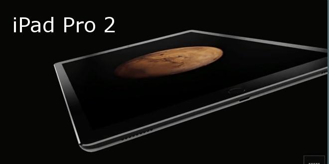 iPad Pro 2 immaginato in un nuovo concept