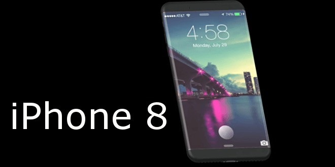 Nuovo concept di iPhone 8 con ricarica Wireless