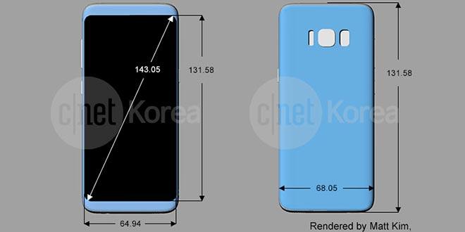Samsung Galaxy S8, arriva un nuovo render