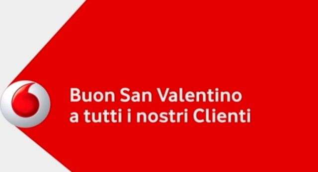 Per San Valentino in arrivo 4 GB gratis da Vodafone