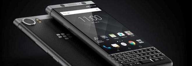 Blackberry: l'azienda sposta la data di immissione sul mercato di Keyone a maggio