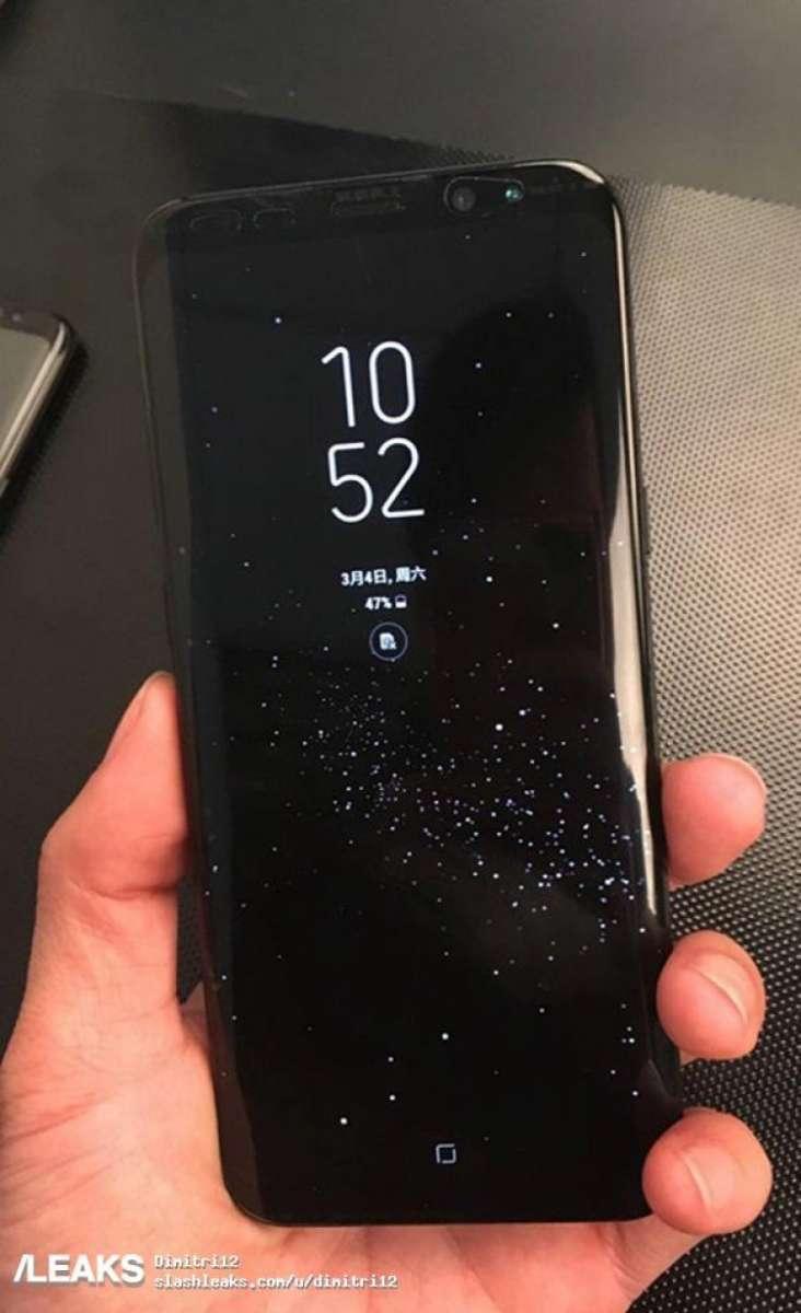 Samsung Galaxy S8 e S8+ mostrati in nuove foto