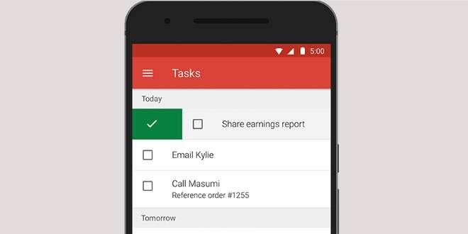 Aggiornamento Gmail: allegati da 50MB e supporto ai task di Exchange