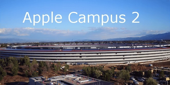 Apple Campus 2, nuovi video ci mostrano i lavori in corso