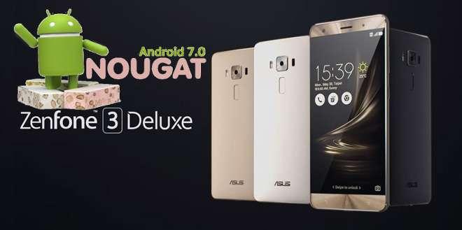 Asus Zenfone 3 Deluxe, arriva Android 7.0 Nougat