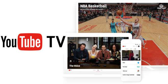 Google sfida Netfilx e lancia YouTube TV