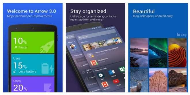 Microsoft Arrow Launcher si aggiorna ancora con modalità tablet e non solo