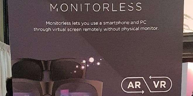 Smartglass Monitorless: il contributo di Samsung alla realtà virtuale